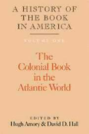 Cover of: The colonial book in the Atlantic world
