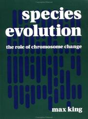 Cover of: Species Evolution