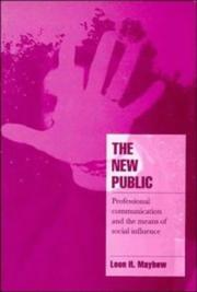 Cover of: The new public | Leon H. Mayhew