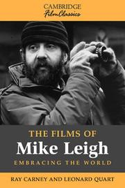 Cover of: The films of Mike Leigh | Raymond Carney
