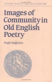 Cover of: Images of community in old English poetry