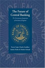 Cover of: The future of central banking |