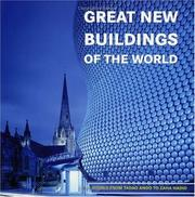 Cover of: Great new buildings of the world | Ana Cristina G. CanМѓizares