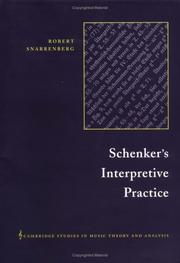 Schenker's Interpretive Practice