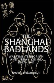 Cover of: The Shanghai Badlands