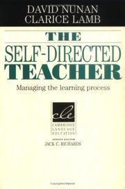 Cover of: The Self-Directed Teacher | David Nunan