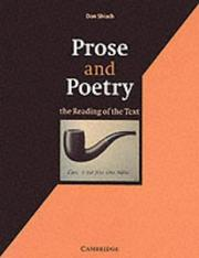 Cover of: Prose and Poetry | Don Shiach
