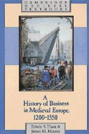 Cover of: A history of business in medieval Europe, 1200-1550