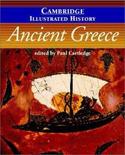 Cover of: The Cambridge Illustrated History of Ancient Greece (Cambridge Illustrated Histories) | Paul Cartledge
