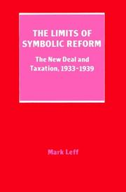 Cover of: The Limits of Symbolic Reform | Mark H. Leff