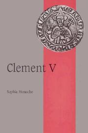 Cover of: Clement V | Sophia Menache