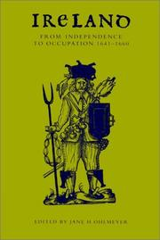 Cover of: Ireland from Independence to Occupation, 16411660