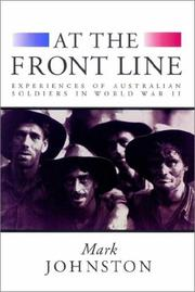 Cover of: At the Front Line | Mark Johnston