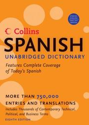 Cover of: Collins Spanish Unabridged Dictionary, 8th Edition