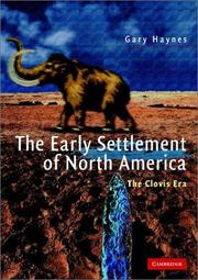 Cover of: The early settlement of North America | Gary Haynes