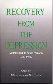 Cover of: Recovery from the depression |