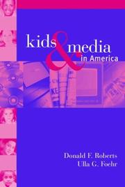 Cover of: Kids and media in America
