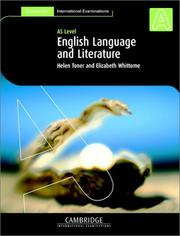 Cover of: English Language and Literature (International) AS Level (Cambridge International Examinations) | Helen Toner