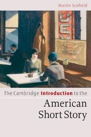 Cover of: The Cambridge Introduction to the American Short Story (Cambridge Introductions to Literature)