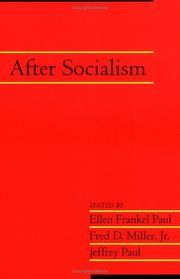 Cover of: After socialism