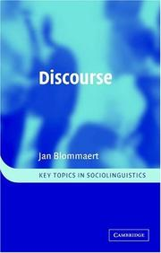 Cover of: Discourse
