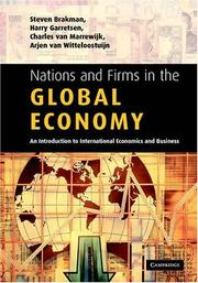 Cover of: Nations and Firms in the Global Economy | Steven Brakman