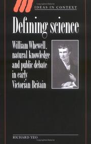 Cover of: Defining Science
