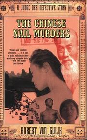 Cover of: The Chinese nail murders
