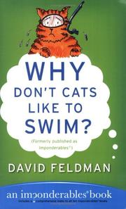 Cover of: Why don't cats like to swim?