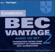 Cover of: Cambridge BEC Vantage 2 Audio CD