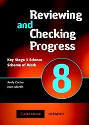 Cover of: Spectrum Reviewing and Checking Progress Year 8 CD-ROM (Spectrum Key Stage 3 Science) |