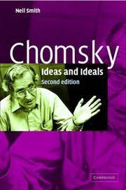 Cover of: Chomsky | Neil Smith