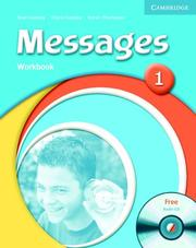 Cover of: Messages 1 Workbook with Audio CD (Messages) | Diana Goodey