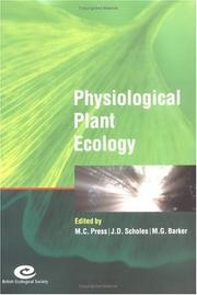 Cover of: Physiological Plant Ecology |