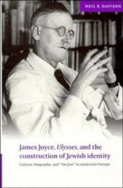 Cover of: James Joyce, Ulysses, and the Construction of Jewish Identity