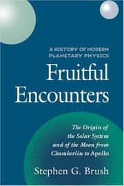Cover of: A history of modern planetary physics