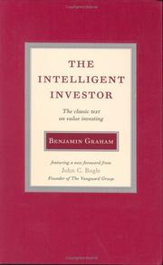 Cover of: The Intelligent Investor by Benjamin Graham