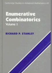Cambridge Studies in Advanced Mathematics, Volume 49: Enumerative Combinatorics, Volume 1