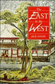 Cover of: The East in the West