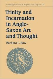 Cover of: Trinity and incarnation in Anglo-Saxon art and thought