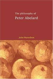 Cover of: The philosophy of Peter Abelard