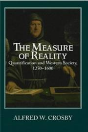 Cover of: The measure of reality | Alfred W. Crosby