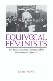 Cover of: Equivocal Feminists