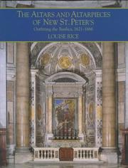 Cover of: The altars and altarpieces of new St. Peter's