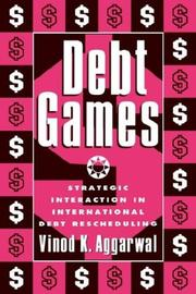 Cover of: Debt games