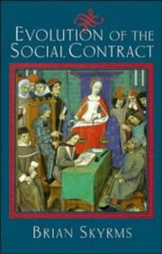 Cover of: Evolution of the social contract
