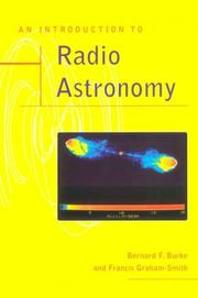 Cover of: An Introduction to Radio Astronomy | Bernard F. Burke