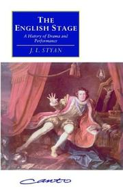 Cover of: The English stage