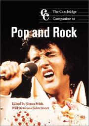 Cover of: The Cambridge Companion to Pop and Rock (Cambridge Companions to Music) |