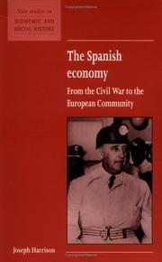 Cover of: The Spanish economy